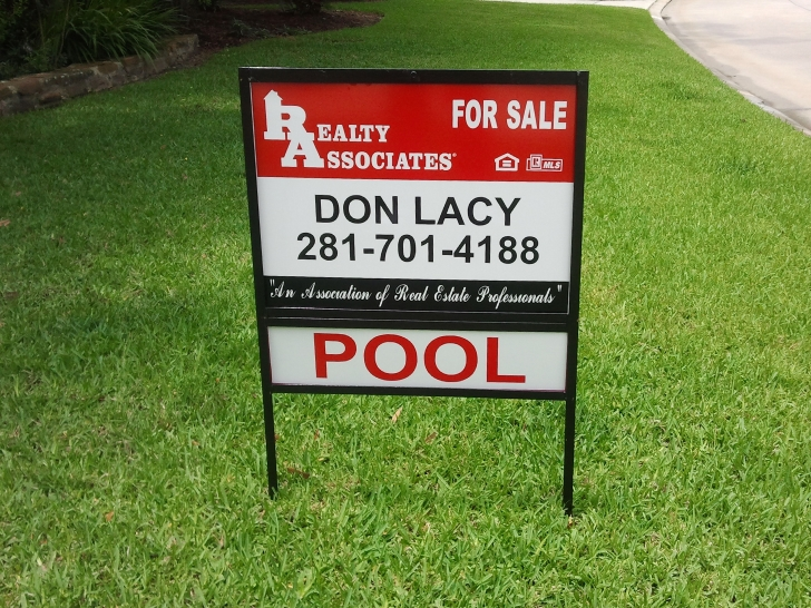 Home For Sale Sign by Don Lacy